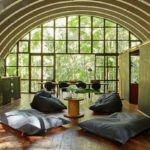 This prefab jungle home