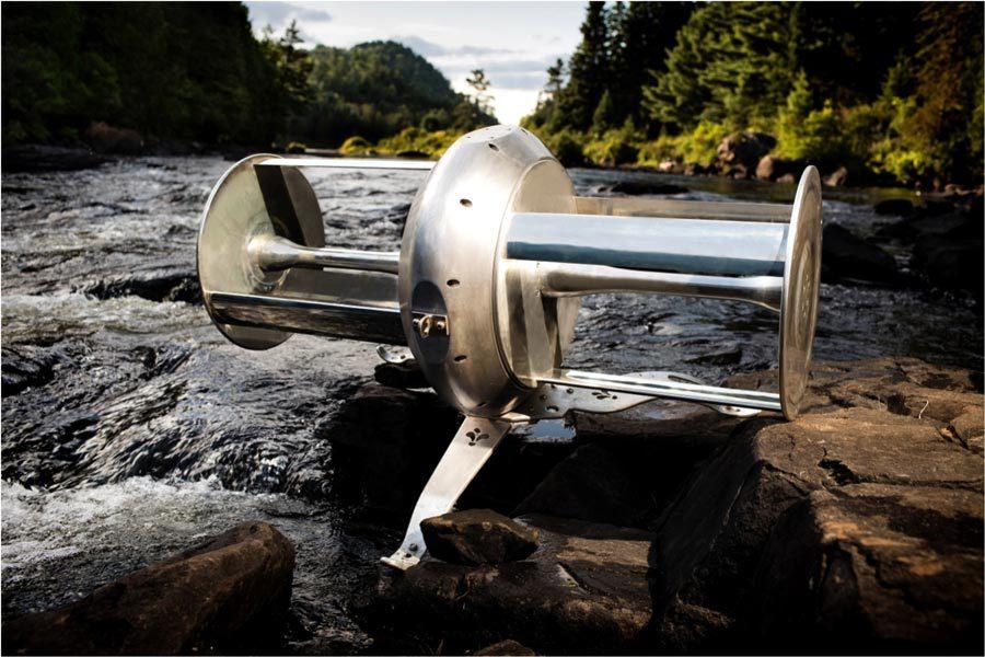 Portable river turbine