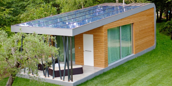 Green Zero – A Comfortable Prefab Home that Builds Energy-Saving into Design