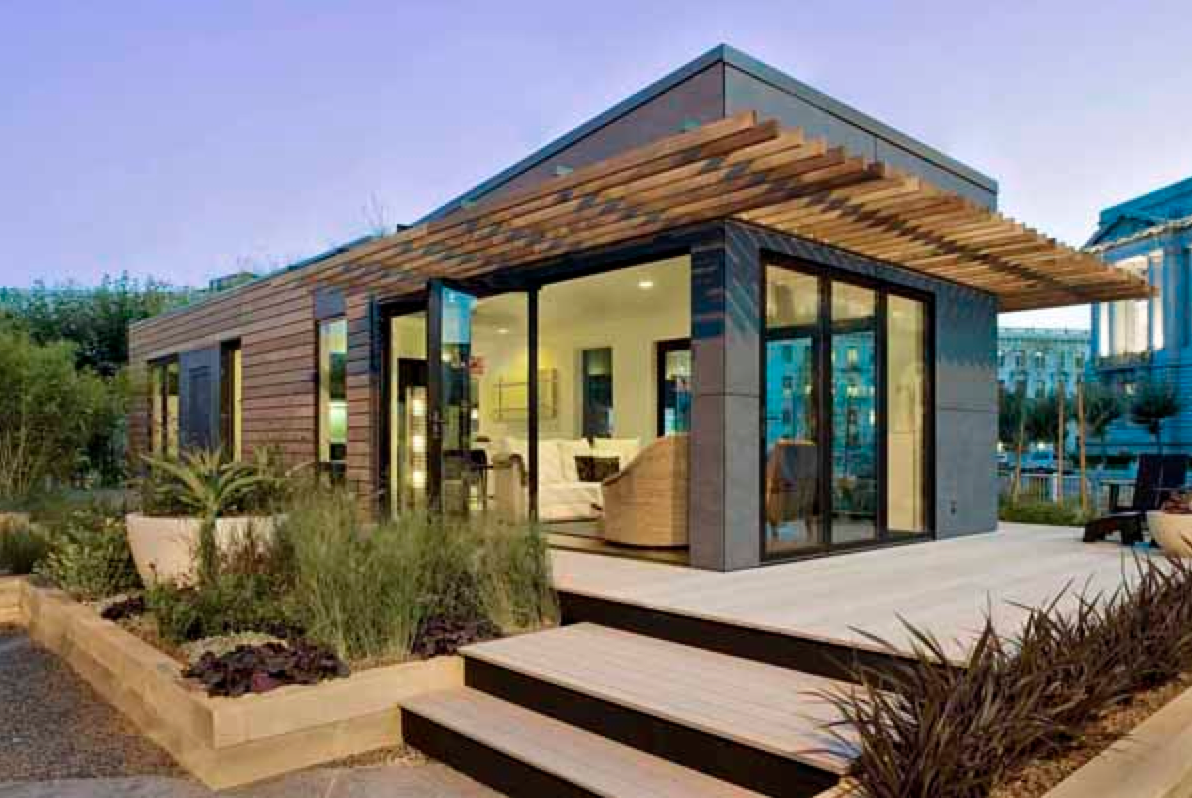 Modern prefab cabins home decor for Contemporary home builders