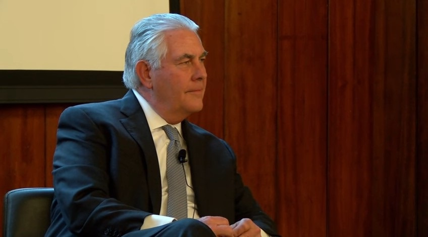 Rex Tillerson explains his relationship with Putin, and his position on climate change