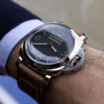 Panerai Luminor Oak Leather Strap on: Sophisticated and Comfortable