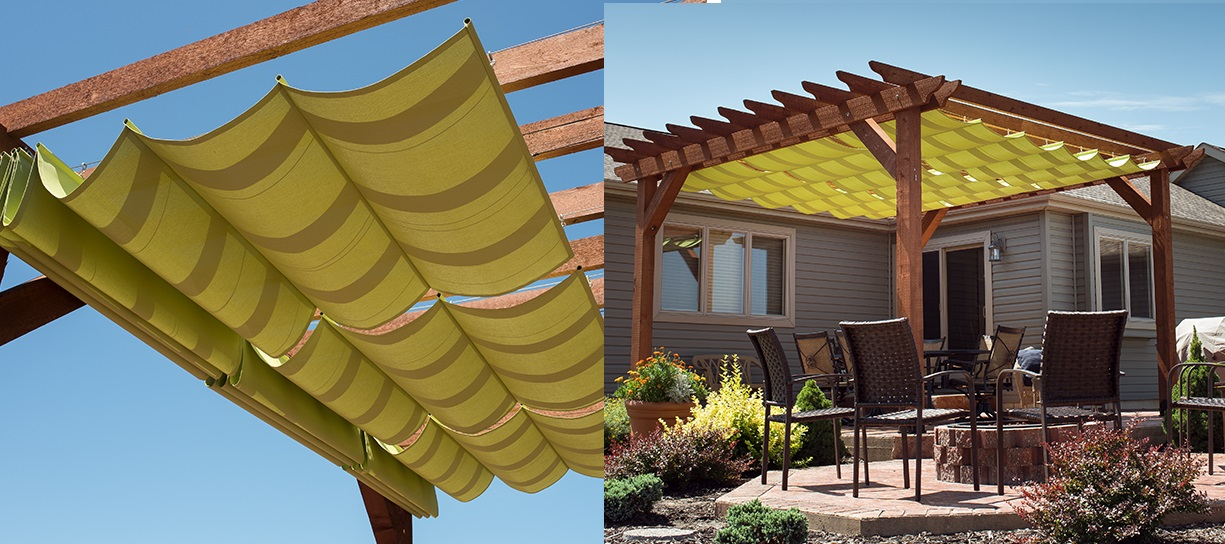 Learn how to make a slide-wire canopy