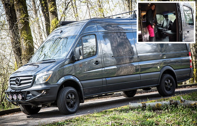 These custom camper vans bring easy living to the great outdoors