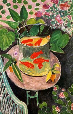 Henri Matisse, Still Life with Goldfish (1912)