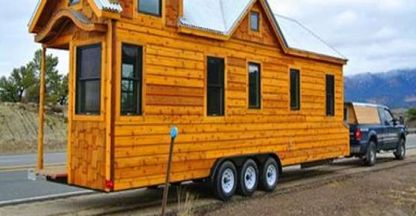 30 foot Trailer House