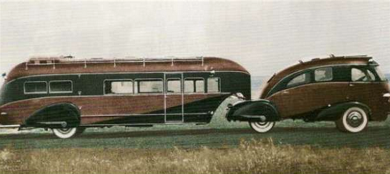 Amazing 1936 Zephyr Land Yacht