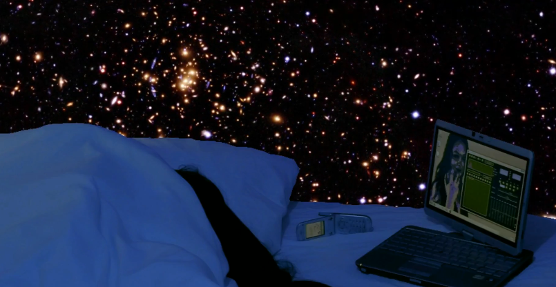 A Lullaby for a Girlfriend Sleeping on a Space Capsule in 2088