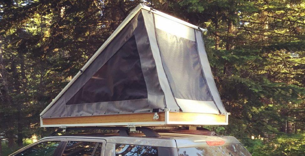 A DIY Rooftop Tent
