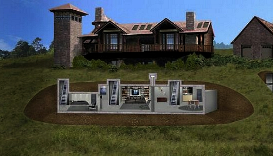How to build an underground bunker