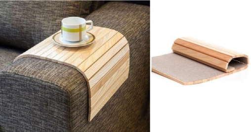 Sofa arm tray tables - The balancing game just got easier